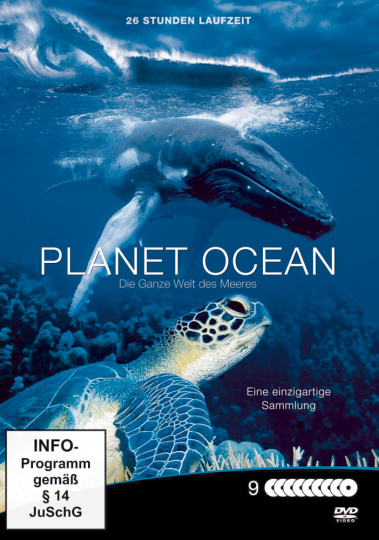 Planet Ocean Megabox. 9 DVDs.