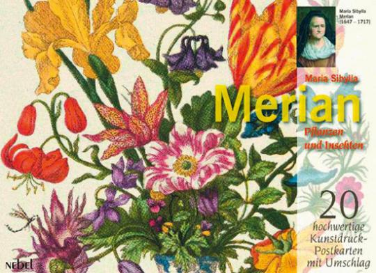 Planten und Insekten. Merian Karten-Set 40-teilig.