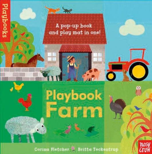 Playbook Farm. Pop-Up- und Bastelbuch.