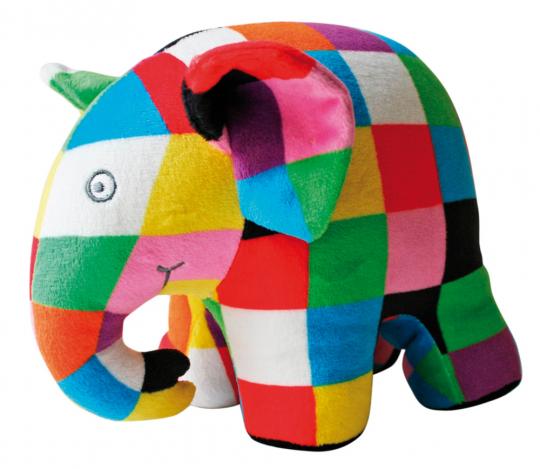 Plüsch-Elefant Elmar.