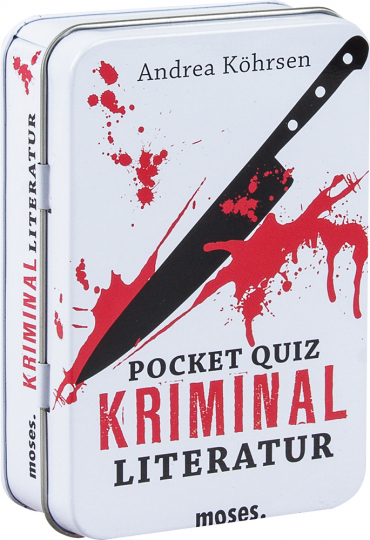 Pocket Quiz. Sonderedition Kriminalliteratur.