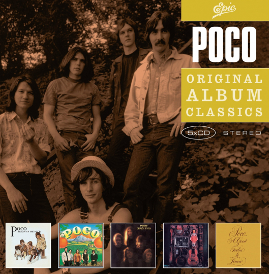 Poco. Original Album Classics. 5 CDs.