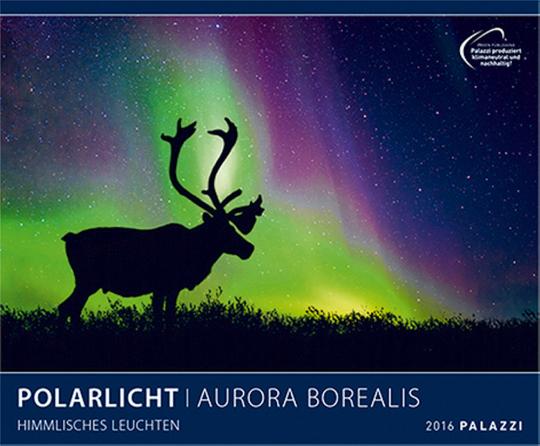 Polarlicht 2016. Aurora Borealis Himmlisches Leuchten
