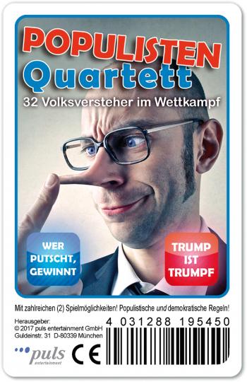 Populisten-Quartett. 32 Volksversteher im Wahlkampf.