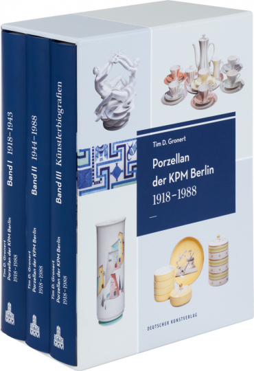 Porzellan der KPM Berlin. 1918 - 1988. 3 Bände.