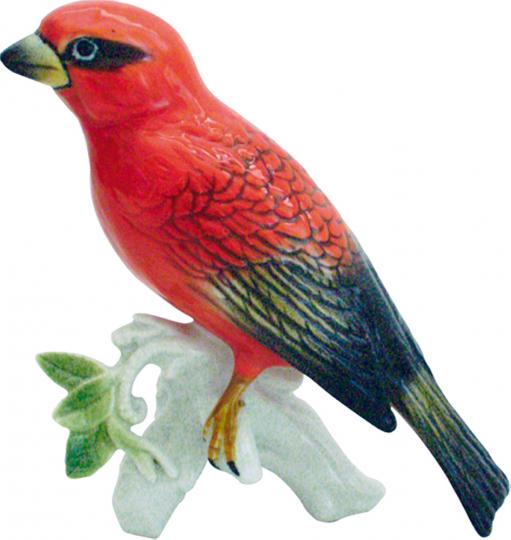 Porzellanvogel »Webervogel«.