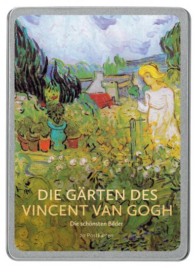 Postkarten-Set »Die Gärten des Vincent van Gogh«.