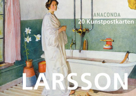 Postkartenbuch Carl Larsson.