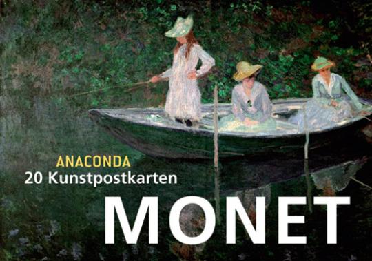 Postkartenbuch Claude Monet.