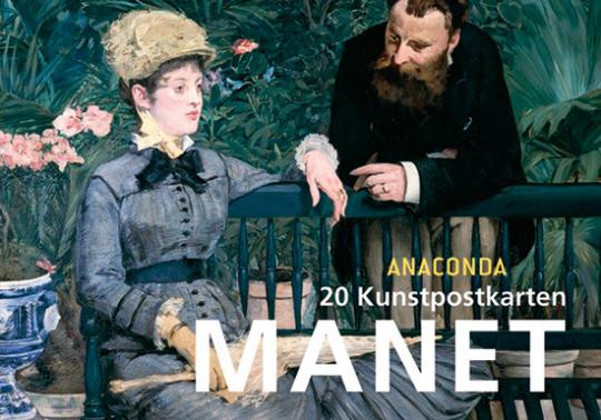 Postkartenbuch Édouard Manet.