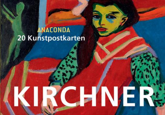 Postkartenbuch Ernst Ludwig Kirchner.