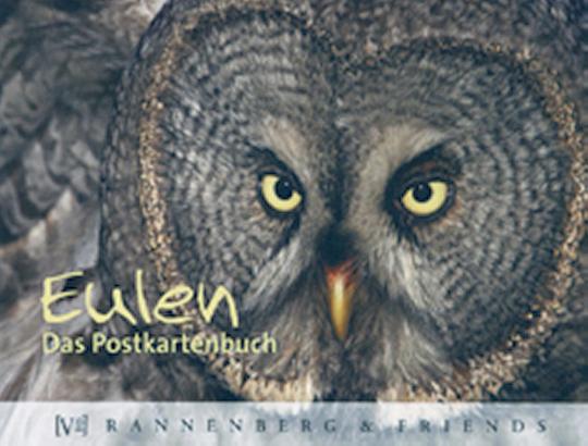 Postkartenbuch Eulen