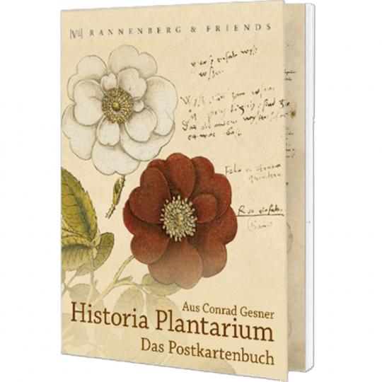 Postkartenbuch 'Historia Plantarum'
