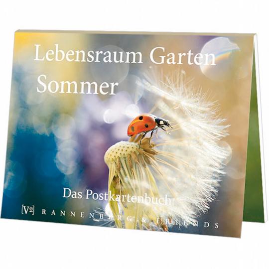 Postkartenbuch Lebensraum Garten - Sommer