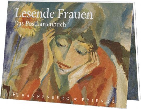 Postkartenbuch Lesende Frauen