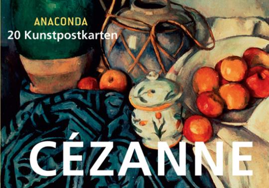 Postkartenbuch Paul Cézanne.