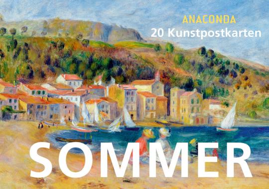 Postkartenbuch Sommer.