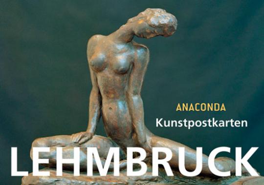 Postkartenbuch Wilhelm Lehmbruck.