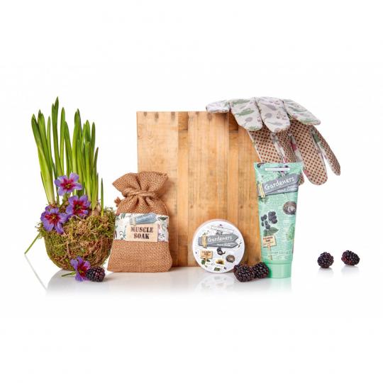 Präsentpaket für Gärtner.