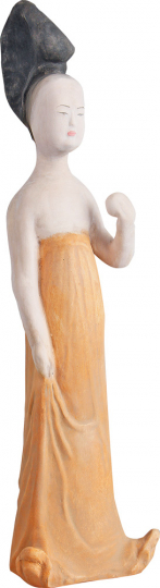 Prinzessin mit Apfel, 7. bis 8. Jh.