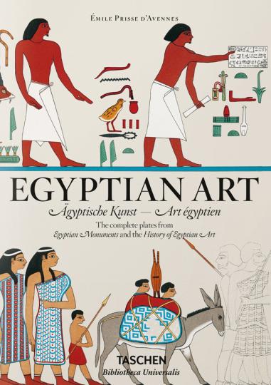 Émile Prisse d'Avennes. Ägyptische Kunst.