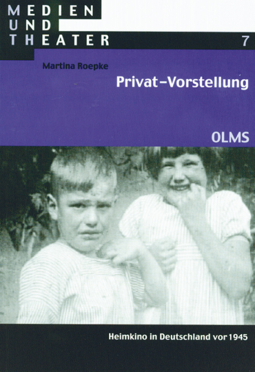 Privat-Vorstellung - Heimkino in Deutschland vor 1945