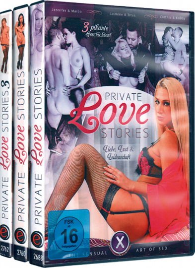 Private Love Stories 3 DVDs