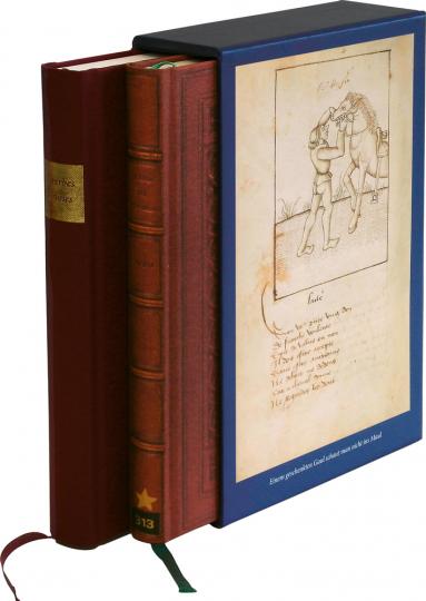 Proverbes en rimes Ein mittelalterliches Sprichwörterbuch. 2 Bände. Faksimile.