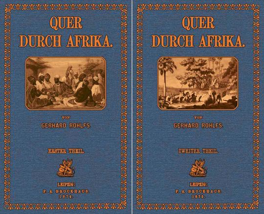Quer durch Afrika. 2 Bände.