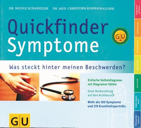 Quickfinder Symptome mit Schnellsuchregister