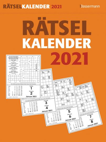 Rätselkalender 2021.
