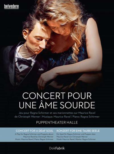 Ragna Schirmer. Konzert für eine taube Seele. 1 DVD, 1 CD.