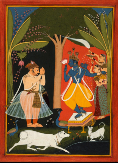 Rajput Painting. Romantic, Divine and Courtly Art from India