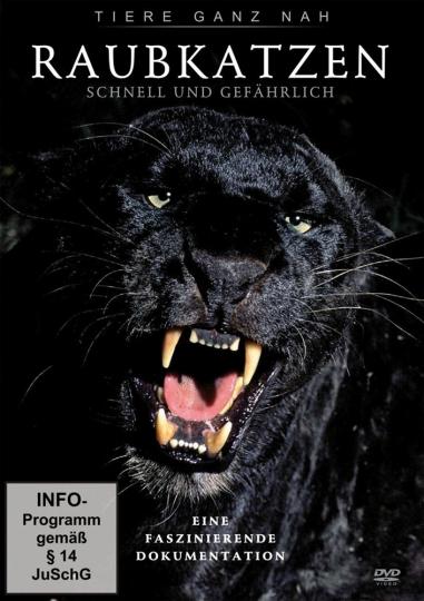 Raubkatzen - Schnell und gefährlich DVD