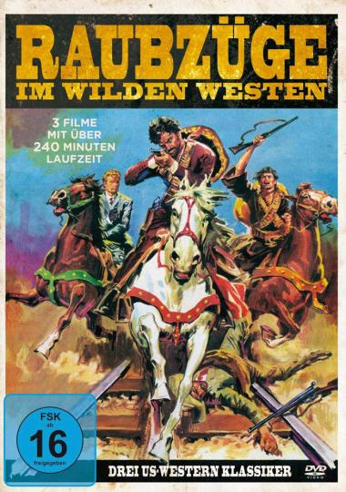 Raubzüge im Wilden Westen (3 Filme).DVD.