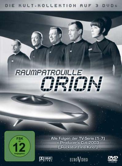 Raumpatrouille. Raumschiff Orion (Kultkollektion mit TV-Serie & Kinofilm). 3 DVDs.