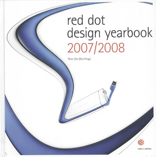 Red dot design yearbook 2007/2008.
