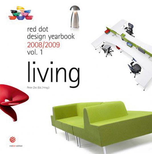 Red dot design yearbook 2008/2009. Living.
