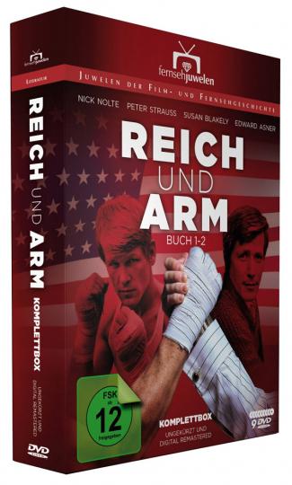 Reich und arm (Komplettbox). 9 DVDs.