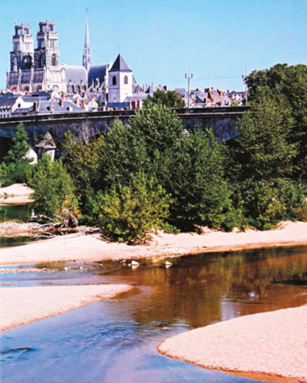 Reise durch das Tal der Loire mit seinen Schlössern.