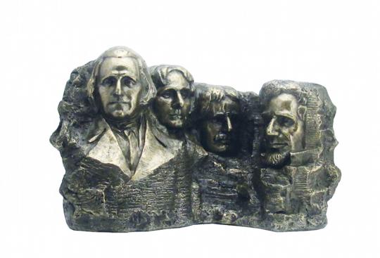Relief-Statue US Mount Rushmore