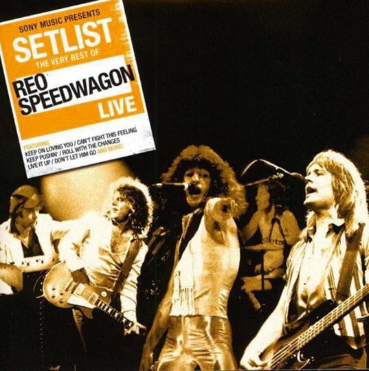 REO Speedwagon. Setlist: The Very Best Of REO Speedwagon Live. CD.