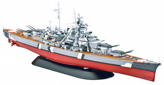 Revell Bausatz Schlachtschiff Bismarck 1:700