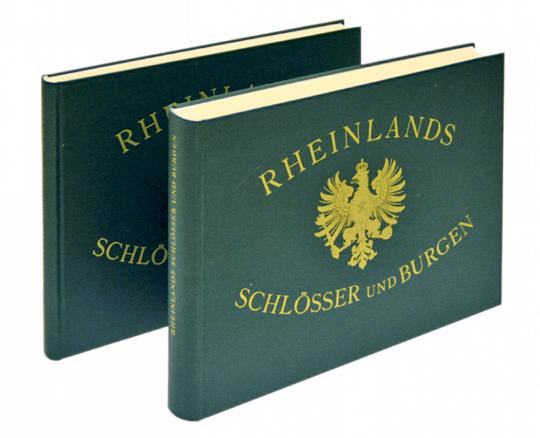 Rheinlands Schlösser und Burgen 2 Bände im Großformat - Faksimile aus dem Jahr 1981