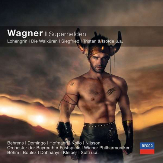 Richard Wagner. Wagner - Superhelden. CD.