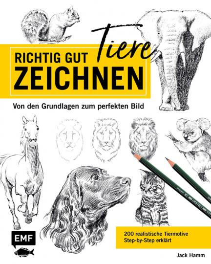 Richtig gut Tiere zeichnen.