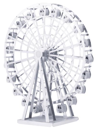 Riesenrad in 3 D.