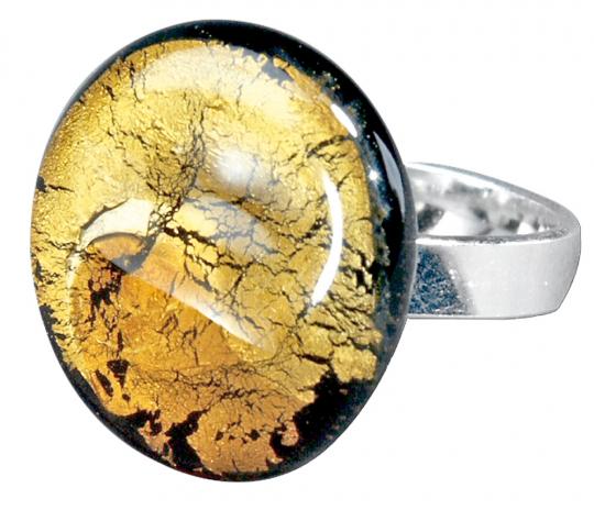 Ring »Midnight Moon«, gold.