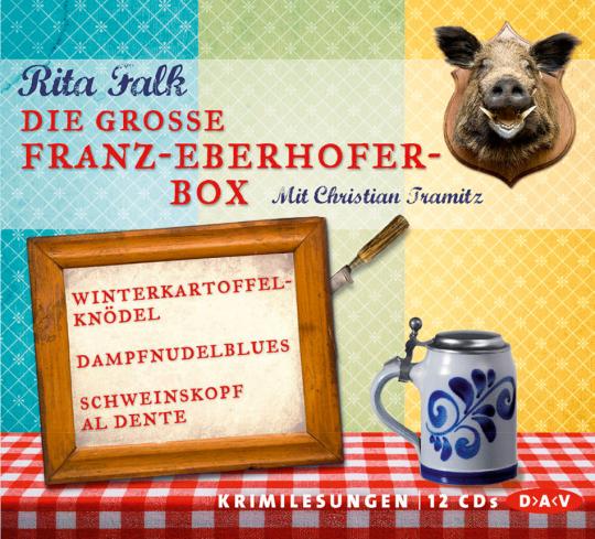 Rita Falk. Die große Franz-Eberhofer-Box. 12 CDs.