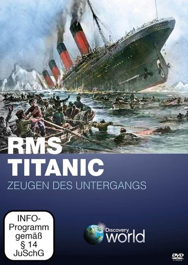 RMS Titanic - Zeugen des Untergangs. DVD.